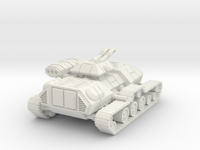 1/72 Rebel T3-B Heavy Attack Tank in White Natural Versatile Plastic