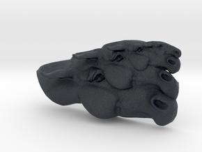 Horse Multi-Faced Caricature (004) in Black Professional Plastic
