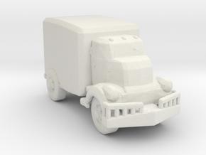 Jeeper's creeper Van v1 160  scale in White Natural Versatile Plastic