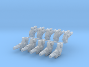 Mk32 Thunderbolters x10 with hands in Smooth Fine Detail Plastic