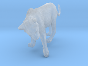 Lion 1:15 Cub reaching for something in Smooth Fine Detail Plastic