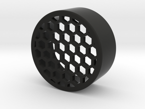 40mm honeycomb one piece in Black Natural Versatile Plastic