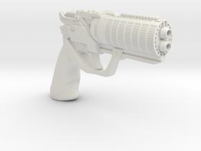 1/3 Scale Blade Runner 2049 Ks Gun in White Natural Versatile Plastic