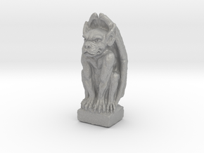 Gargoyle: Dollhouse scale, 50mm tall in Aluminum