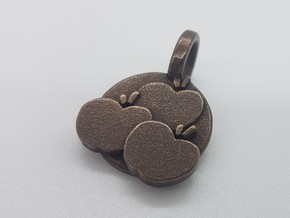 Applejack Pendant in Matte Black Steel
