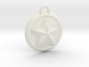 Star Guardian - Poppy (Charm) in White Natural Versatile Plastic