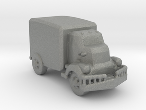 Jeeper's creeper Van v1 220  scale in Gray Professional Plastic
