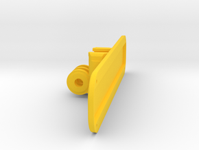 GoPro/NEODiVR Structure Sensor Mount in Yellow Processed Versatile Plastic
