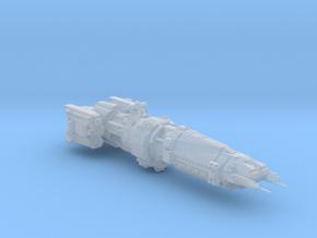 EXPANSE MCRN Terminus Class cruiser-high detail in Smooth Fine Detail Plastic