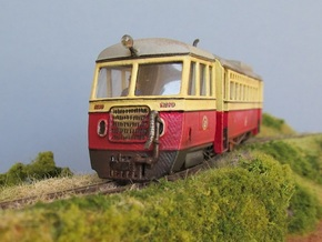 009  Atkinson Walker Railcar Cab - C in White Natural Versatile Plastic