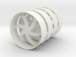 Float-28s Base 2 option in White Natural Versatile Plastic