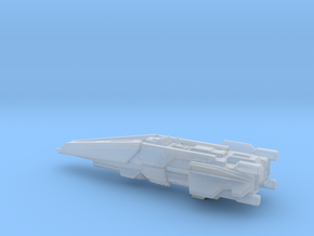 UNSC Halberd destroyer high detail 8cm in Smooth Fine Detail Plastic