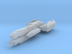 UNSC Nevada Ligh cruiser high detail /small ver. in Smooth Fine Detail Plastic