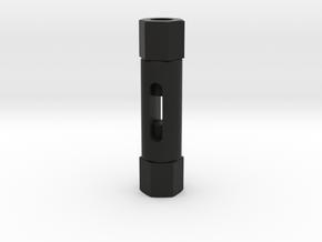 Signal Semaphore Turnbuckle 1.5mm 1:19 scale in Black Natural Versatile Plastic