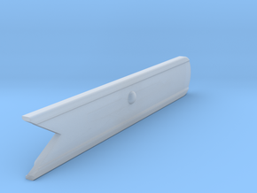 Signal Semaphore Blade (Fish Tail) 1:19 scale in Smooth Fine Detail Plastic