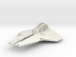 """7.5"""" ETA-2 in White Natural Versatile Plastic"""