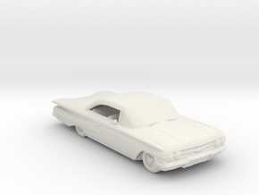 white Jeepers creeper 60 chevy 285 scale in White Natural Versatile Plastic