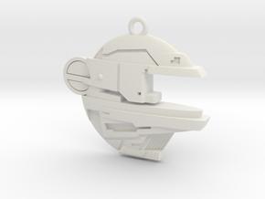 BalticSeaAnomaly Keychain in White Natural Versatile Plastic