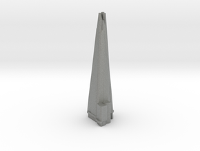The Shard - London (1:6000) in Gray PA12