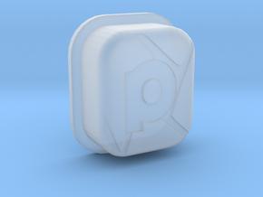 SHATTR3D Mech Squonk Button in Smoothest Fine Detail Plastic