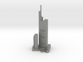 Commerzbank Tower - Frankfurt (1:4000) in Gray PA12