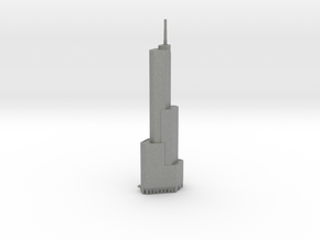 Trump Tower - Chicago (1:4000) in Gray PA12