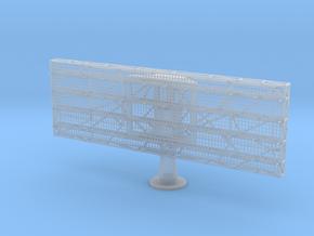 FuMo 27 6mx2m Zerstörer scale 1:50 in Smooth Fine Detail Plastic