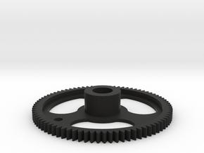 Aerodynic Drive Gear - 1X Oversize in Black Natural Versatile Plastic