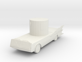 Deathmobile 160 scale in White Natural Versatile Plastic