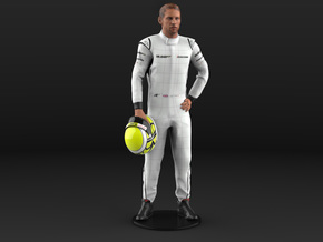 Jenson 1/8 Champion Standing Figure 2009 in Natural Full Color Sandstone