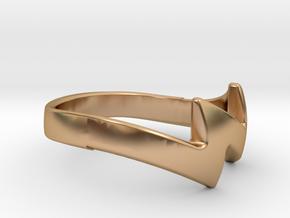 ZUUZ Ring in Polished Bronze