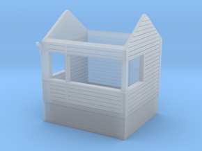 Freshwater signalbox 4mm/ft in Smooth Fine Detail Plastic