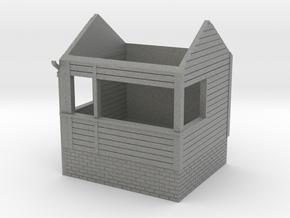 Freshwater signalbox 4mm/ft in Gray PA12