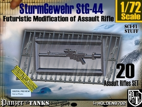 1/72 Sci-Fi StG 44 Set001 in Smooth Fine Detail Plastic
