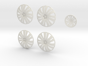 28 Forgi 10 26.2 in White Natural Versatile Plastic