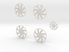 28 Forgi Azioni 26.2 in White Natural Versatile Plastic