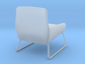 Miniature Fotel Coco Soft Line Chair - MOMA Studio in Smooth Fine Detail Plastic: 1:12