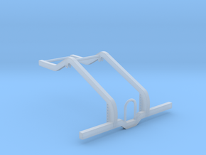 Rear chassis 1/12 frame only in Smooth Fine Detail Plastic