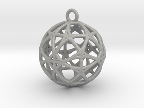 Earth 13D  Matter Alpha Pendant in Aluminum