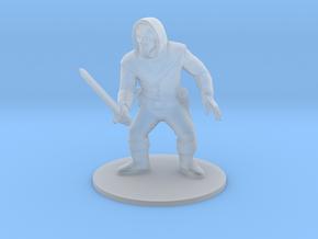 Rogue swordsman 28mm in Smoothest Fine Detail Plastic