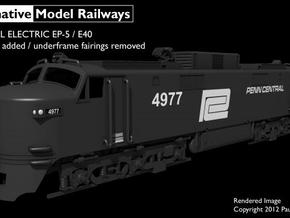 NEP503 N scale EP-5 loco - modified condition in Smooth Fine Detail Plastic