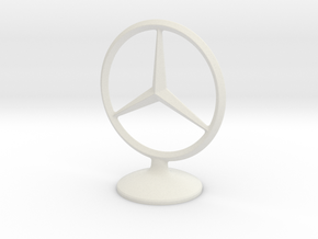 Mercedes Benz Socket in White Natural Versatile Plastic