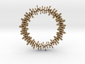 Genea Bracelet in Polished Gold Steel