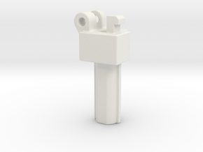 KWA Kriss Vector stock adapter  in White Natural Versatile Plastic