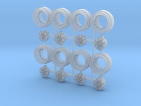 Super River 8-6 Split Hot Wheels Rims in Smoothest Fine Detail Plastic