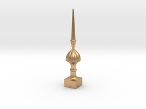 Signal Semaphore Finial (Victorian Spike)1:19scale in Natural Bronze