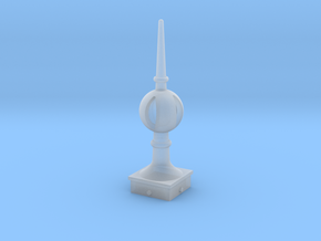Signal Semaphore Finial (Open Ball) 1:19 scale in Smooth Fine Detail Plastic