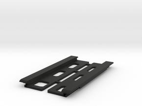 USB Sidecar for MiSTer Case Panels (2/2) in Black Premium Versatile Plastic