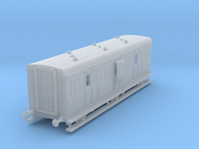 o-148fs-ecjs-6w-luggage-brake-coach in Smooth Fine Detail Plastic