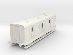 o-76-ecjs-6w-luggage-brake-coach in White Natural Versatile Plastic